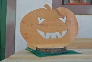 Holzdeko für Halloween