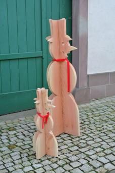 Holzdekoartikel